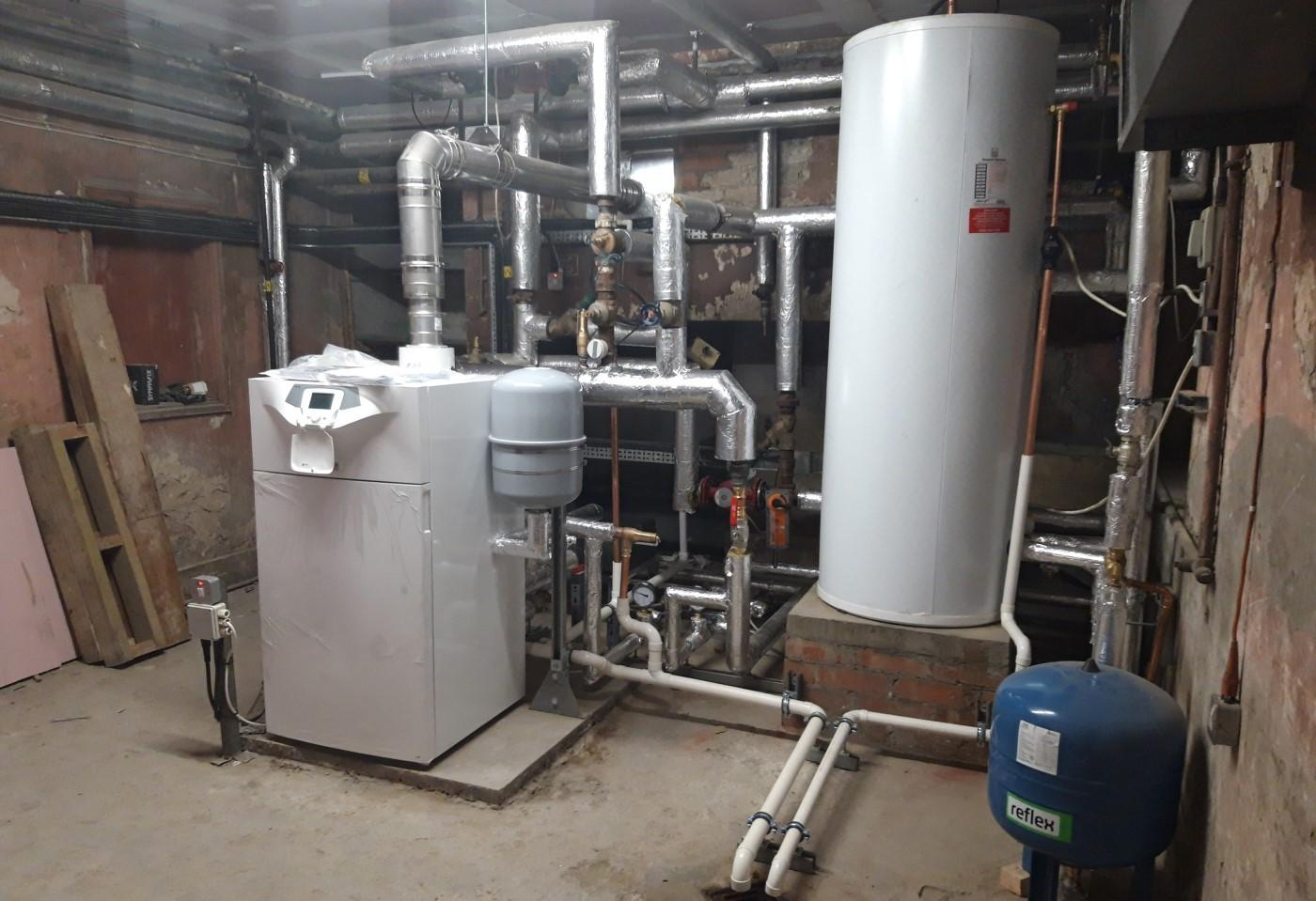 Replacement Boiler and Cylinder Installation