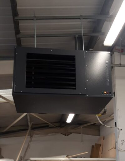 Ebor Heater Completed Installation