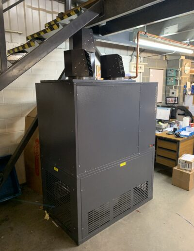 Side view of Powrmatic Cabinet Heater