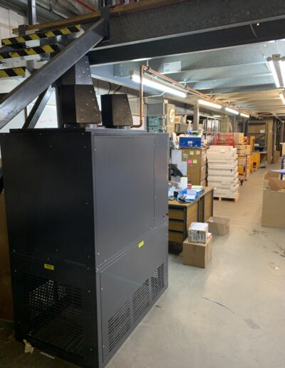 Elring Parts Cabinet Heater Installation