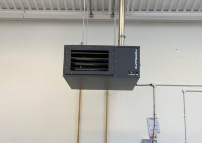 Installation for Heater Team Valley Business Centre
