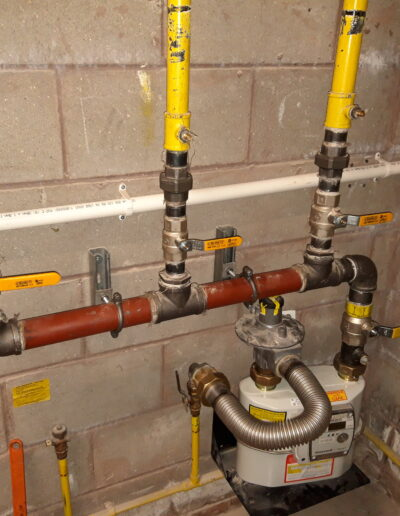 New Gas Meter & Pipework Installation