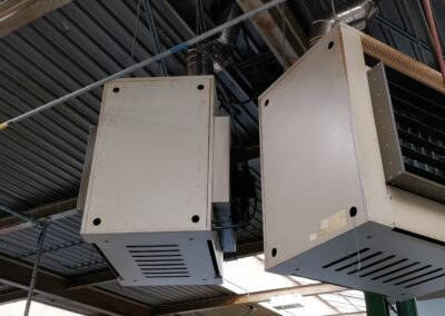 Factory Heaters Before Installation