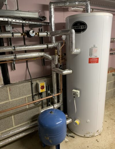 Plant Room Cylinder in Ramside Hall