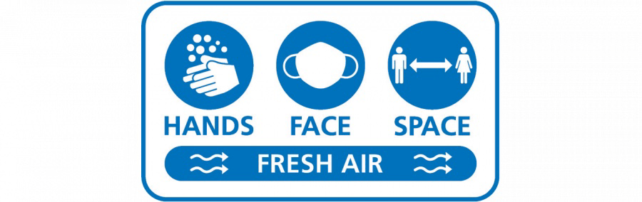 Hands Face space and Fresh Air Logo